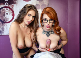 Superb babes Lauren Phillips and Lena..
