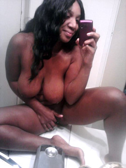 Perfect nude ebony bbw, naked black..