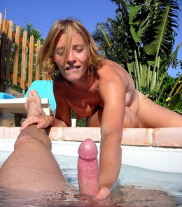 Nudist and swinger resort, hidden..